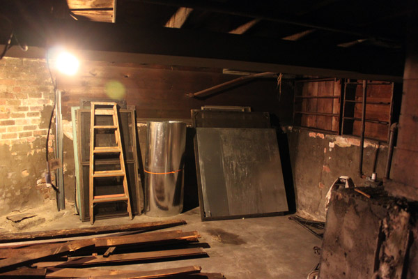 with a little paint your dingy basement can become a beautiful space