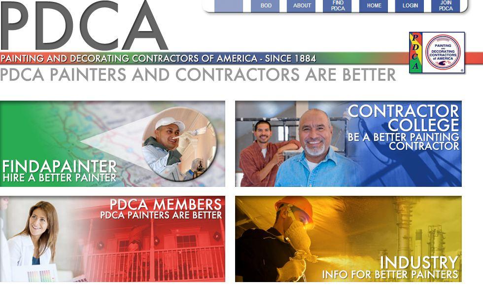Industry standard for painting contractors burnett 1 800 for America s best contractors